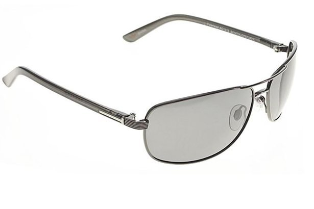 Men's silver Docker's aviator sunglasses