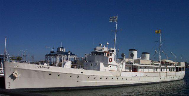 FDR yacht