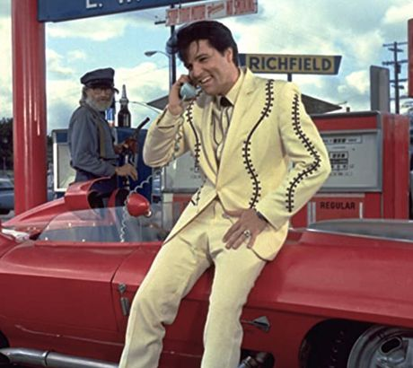 Elvis in the movie Clambake