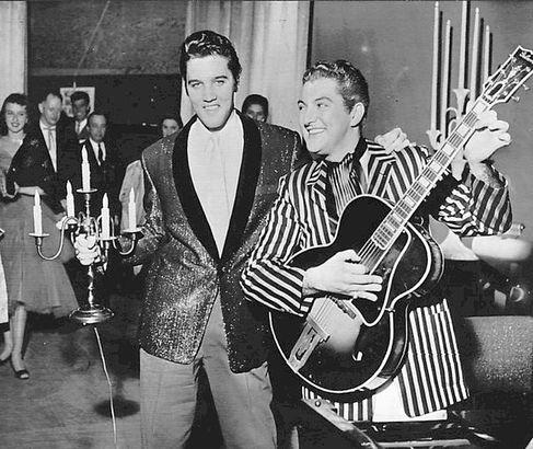 Elvis and Liberace in Las Vegas