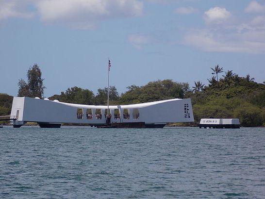 World War II memorial Hawaii