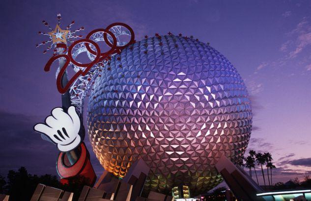 Millennium Celebration at Disney World's EPCOT