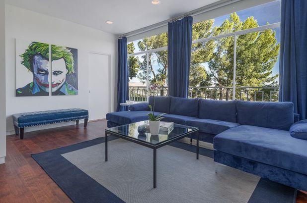 Frank Sinatra's estate living room