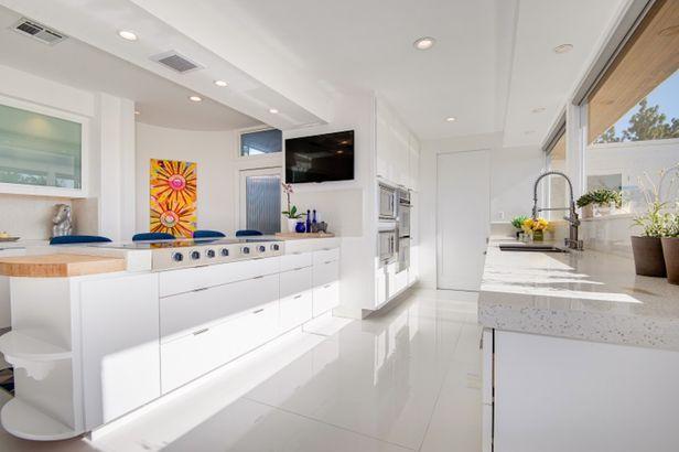 Frank Sinatra's estate kitchen