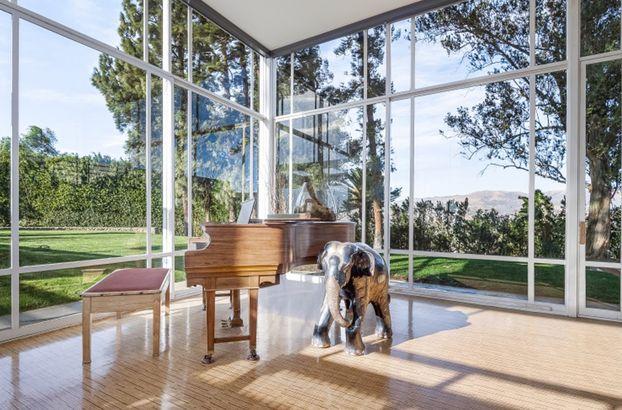 Frank Sinatra's estate piano