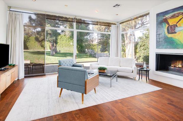 Frank Sinatra's estate sitting room