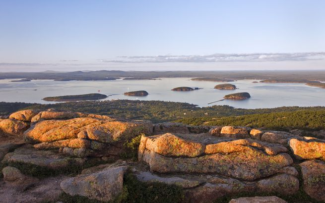 Frenchman's Bay from Cadillac Mountain