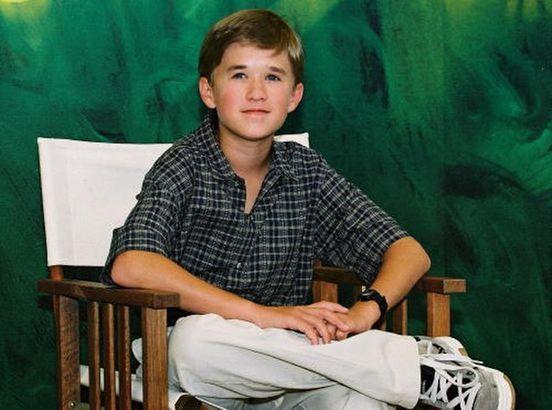 Haley Joel Osment as a child