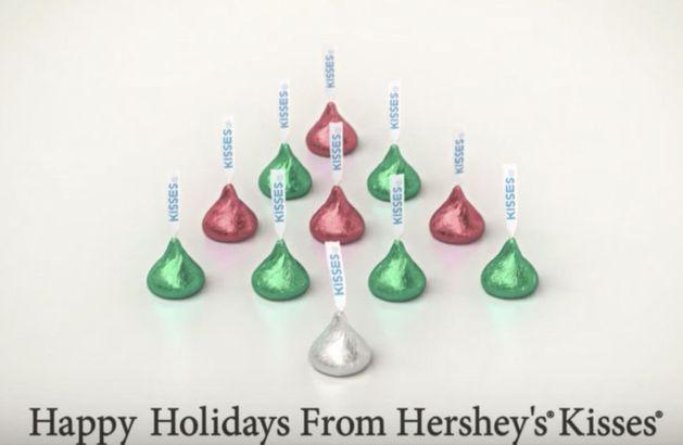 Hershey Christmas bells