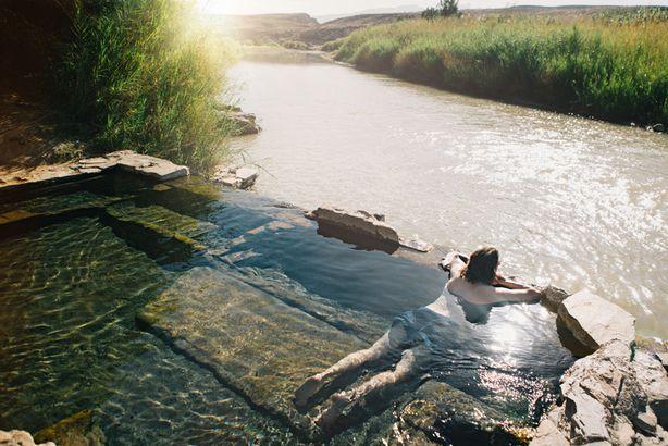 Hot springs in Big Bend