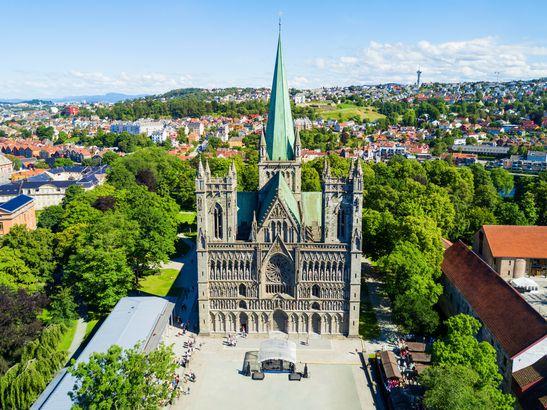 Nidaros Cathedral in Trondheim