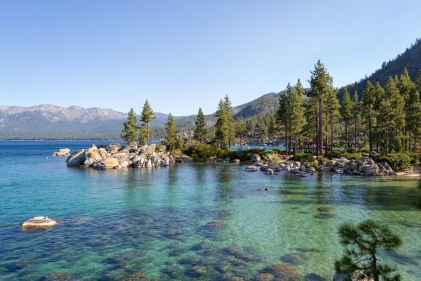 Sand Harbor at Lake Tahoe, Nevada
