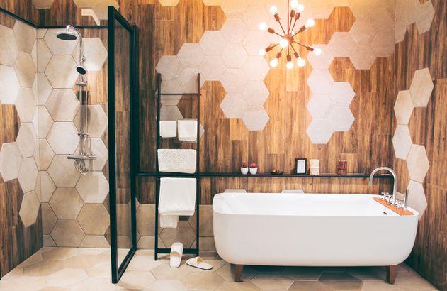 Renovated bath