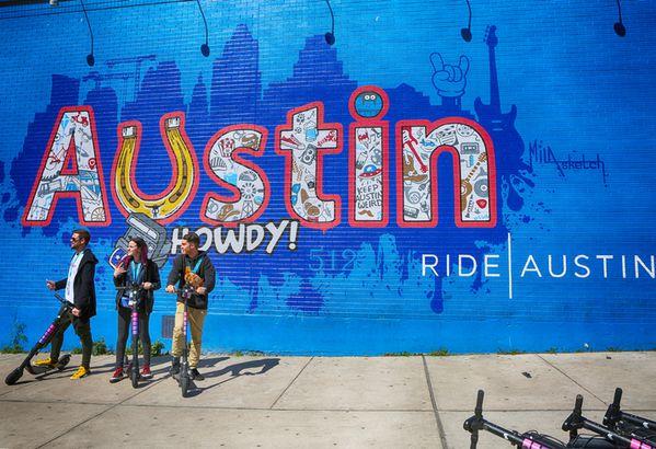 Austin, Texas, mural