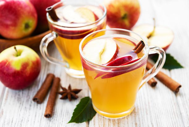 An apple cider assortment