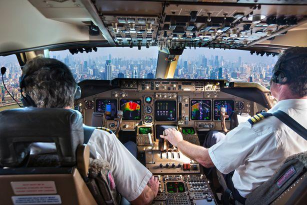 Airplane cockpit members
