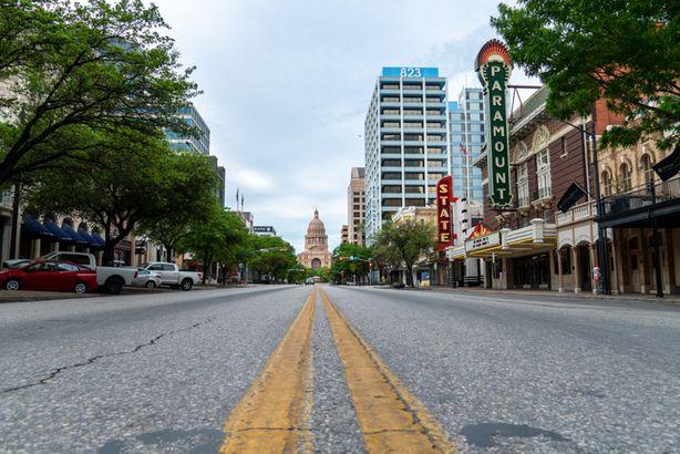 Congress Avenue in Austin, Texas