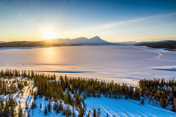 Rossvatnet Lake
