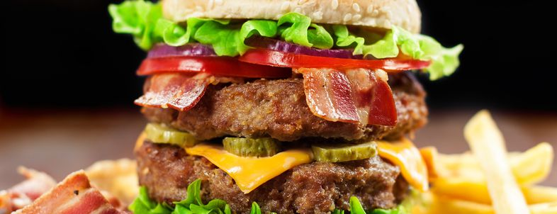 Crazy-High-Calorie Fast Foods