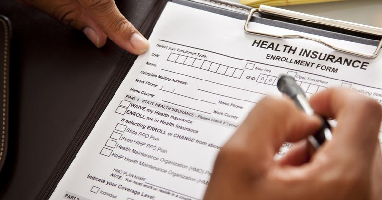 health insurance enrollment form