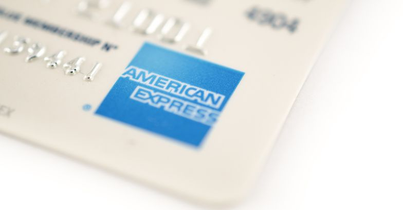 american express card, close-up