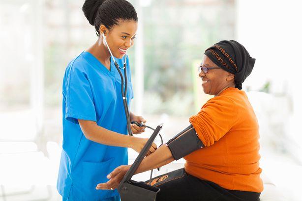 older woman blood pressure