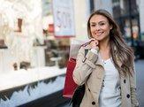 woman shopping sales
