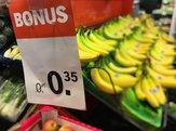 supermarket shopping grocery sale bonus on bananas