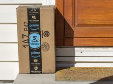 delivered Amazon Prime package
