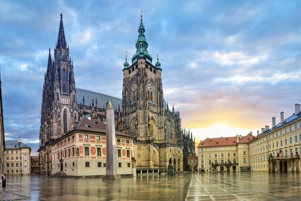 St. Vitus Cathedral in Prague, Czechia