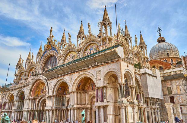 St. Mark's Basilica in Venice in Italy
