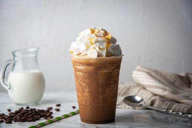 Iced Coffee Cream Frappe