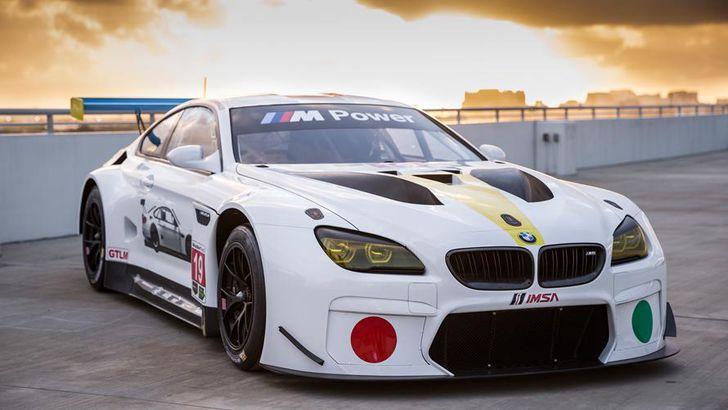 BMW art car designed by John Baldessari