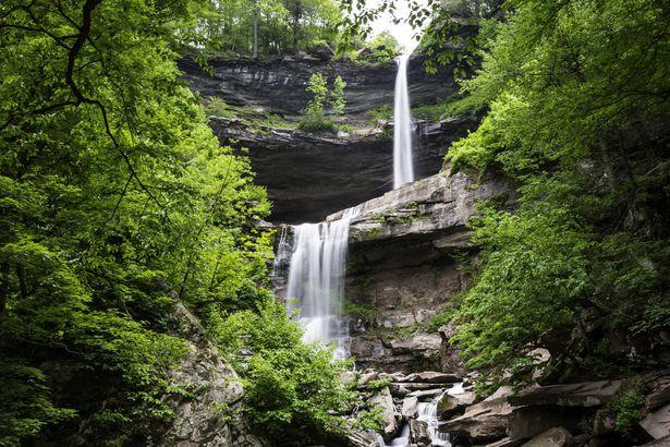 Kaaterskill Falls in Catskills