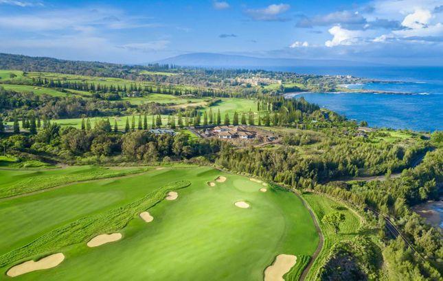 Kapalua Golf in Hawaii