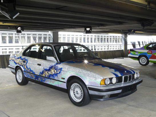 BMW art car designed by Matazo Kayama