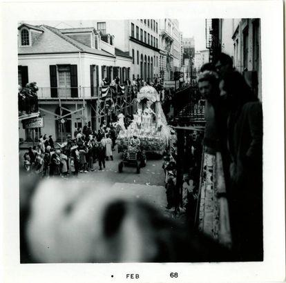 King's float, 1968