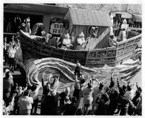 Krewe of Iris float, 1959