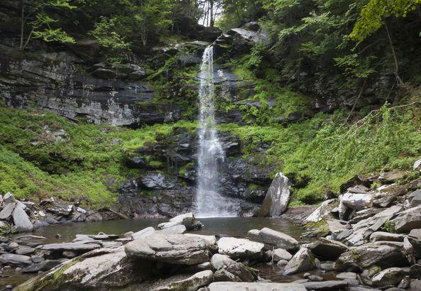 Land of Creeks in Catskills