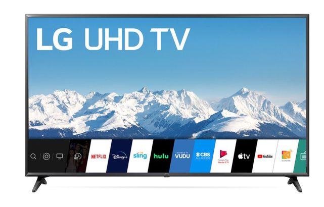 LG UHD smart TV
