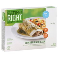 Eating Right Chicken Enchilada