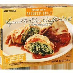 Trader Joe's Reduced-Guilt Spinach and Cheese Shells