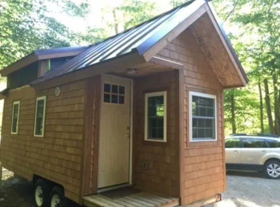 Maine tiny home