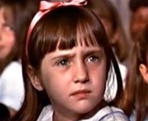 Mara Wilson as a child