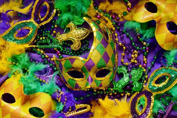 Mardi Gras colors