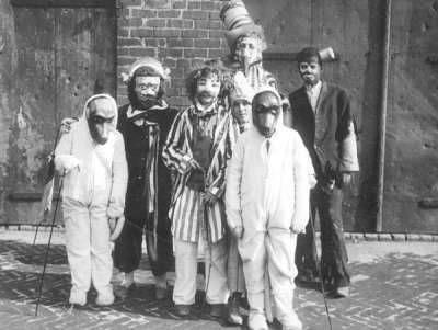 Mardi Gras 'Maskers' circa 1907