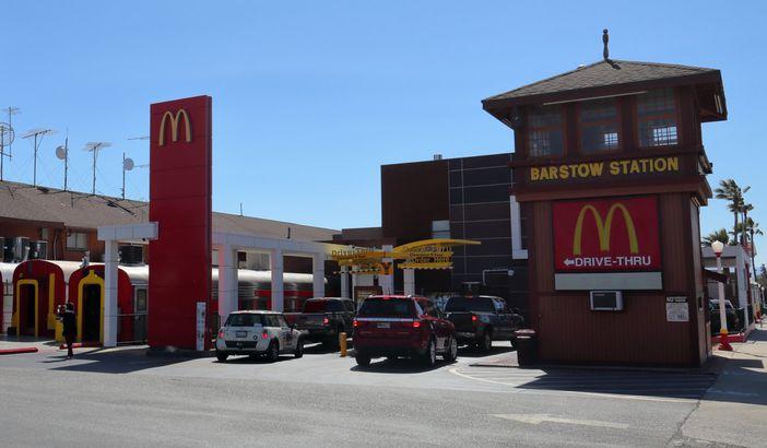 McDonald's: Barstow, California