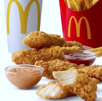 McDonald's chicken tenders