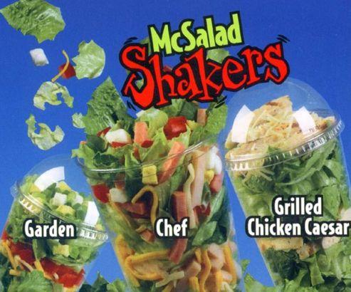 McDonald's McSalad Shakers