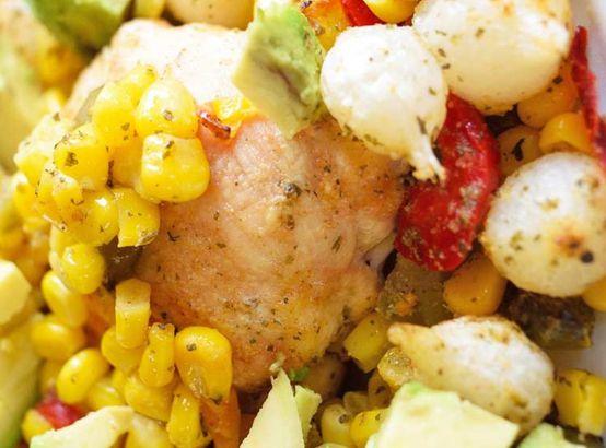 Sheet Pan Mexican Chicken